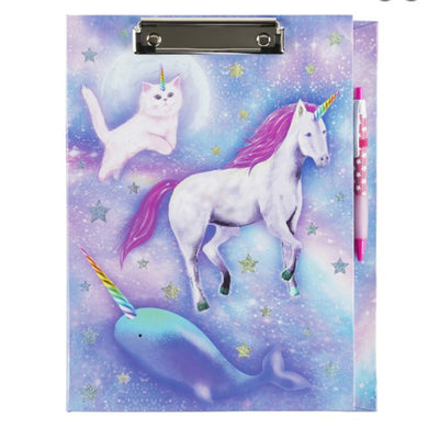 Celestial Unicorn Dreams Clipboard