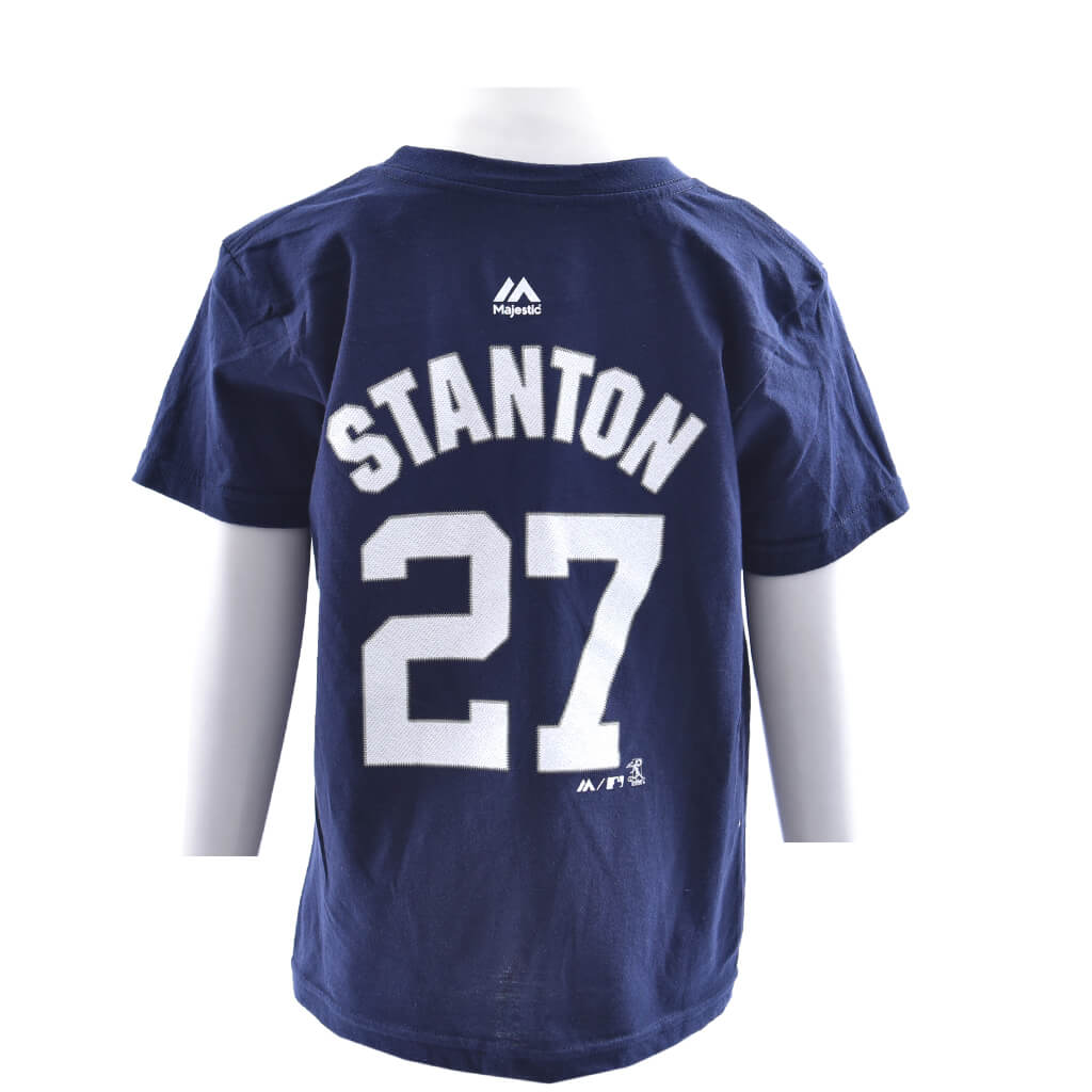 more photos 67f96 6f551 Stanton Name and Number Tee