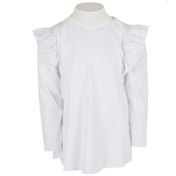 L/S Triple Ruffle Shoulder
