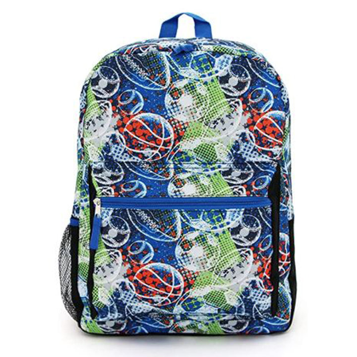 Sports Balls 11 Piece Backpack