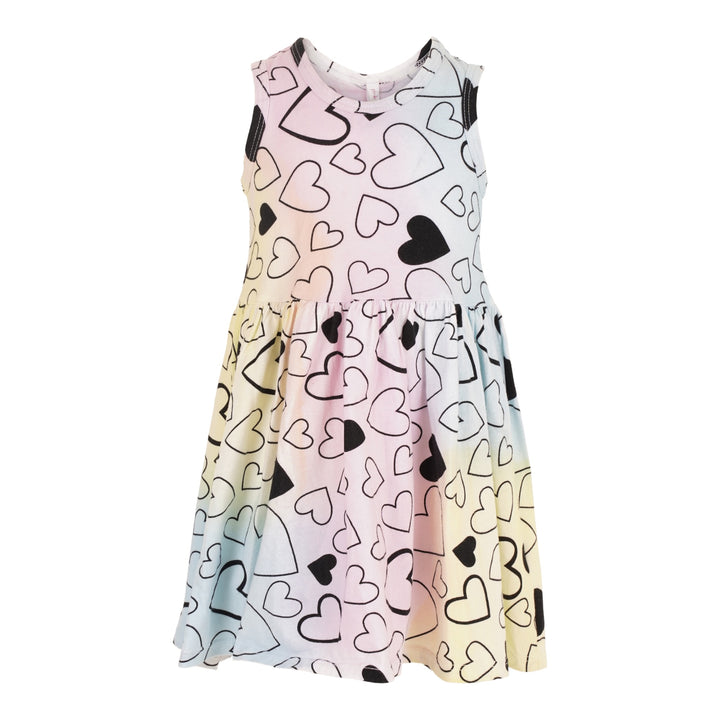 Tank Dress with All Over Hearts