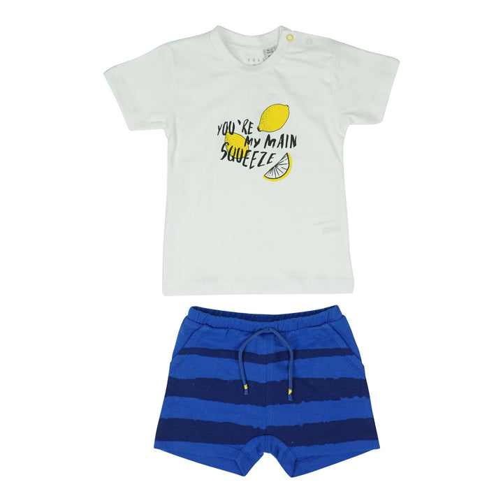 2 Piece Lemon Tee and Short Set