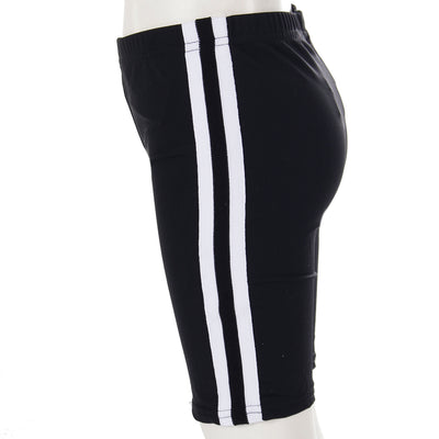 Bike Short with Sport Stripe