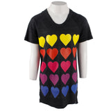 Short Sleeve Tee with Hearts