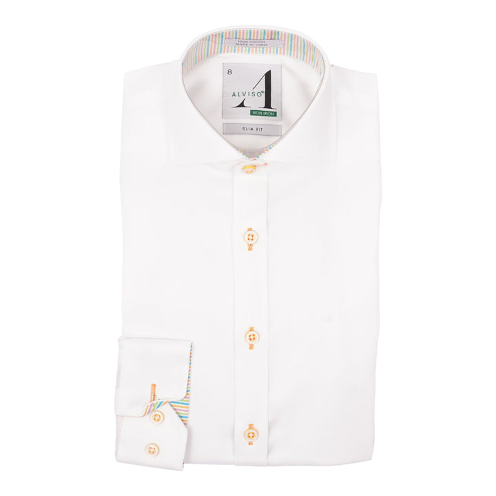 Dress Shirt with Contrast