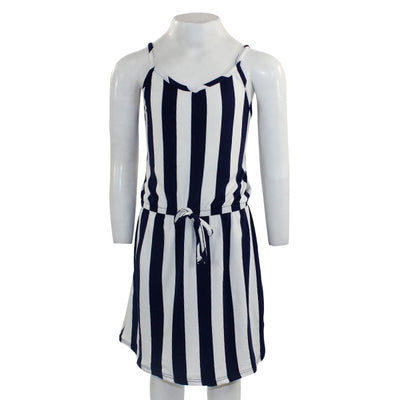 Short Sleeve Dress with Front Ties