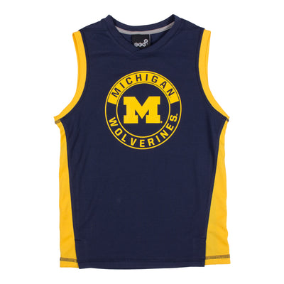 Michigan Pregame Sleeveless Jersey