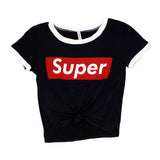 Super Short Sleeve Crew