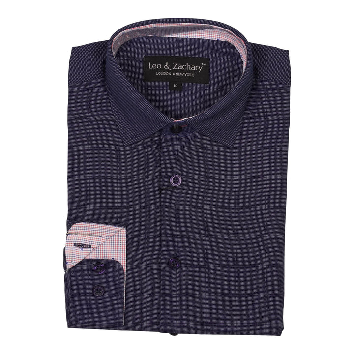 Pindot Dress Shirt