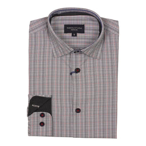 Macelo Plaid Dress Shirt