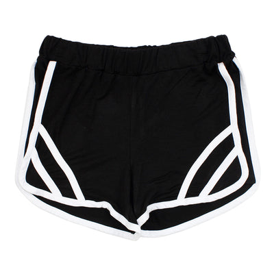 Athletic Short with White Stripe