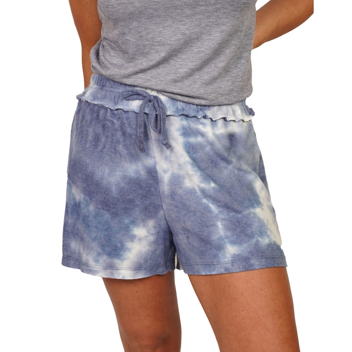 Blue Tonal Brushed Short