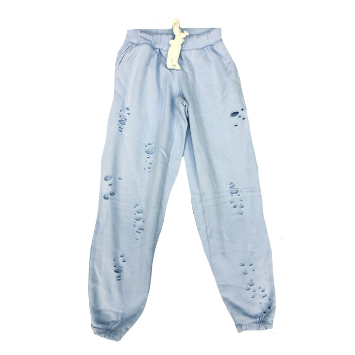 Vintage Blue Ripped Jogger