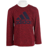 Adidas Logo Heather Long Sleeve Tee