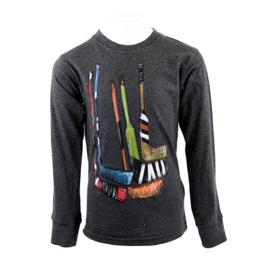 Hockey Sticks Long Sleeve Tee