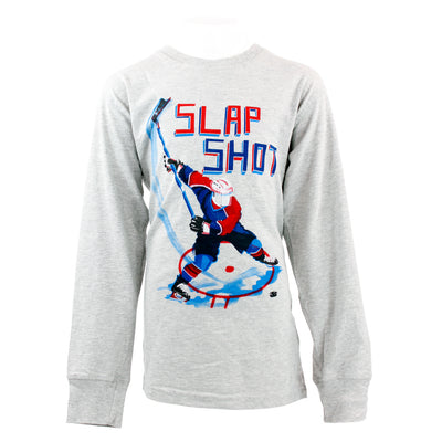 Slap Shot Long Sleeve Tee