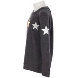 Hacci Top with Glitter Stars