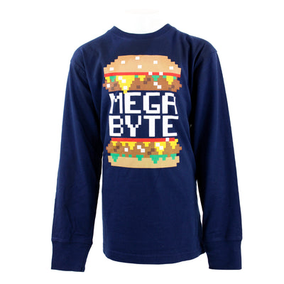 Mega Byte Long Sleeve Tee