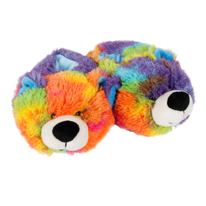 Tie Dye Bear Slipper