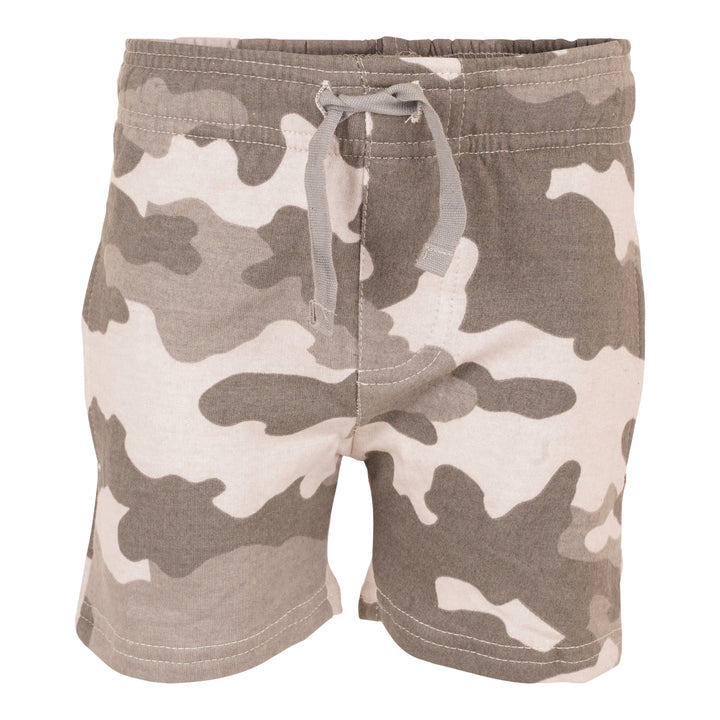 Fleece Camo Short