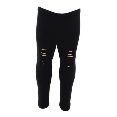 Legging Ripped with Gold