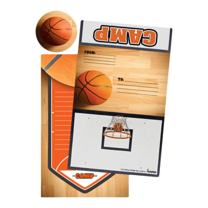 Basketball Foldover Stationary