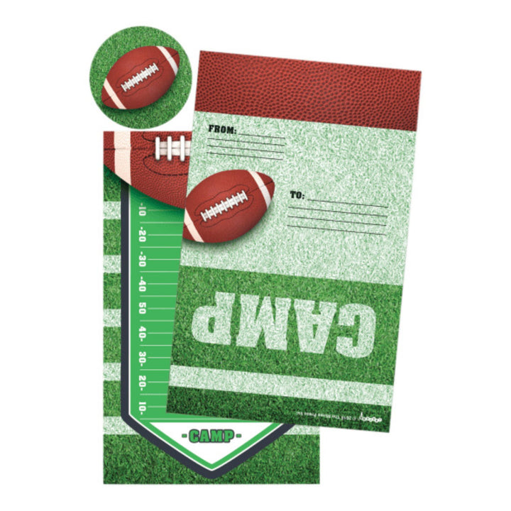 Football Foldover Stationary