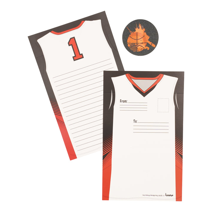 Team Jersey Foldover Stationary