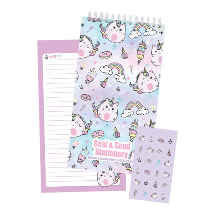 Caticorn Seal n Send Stationary