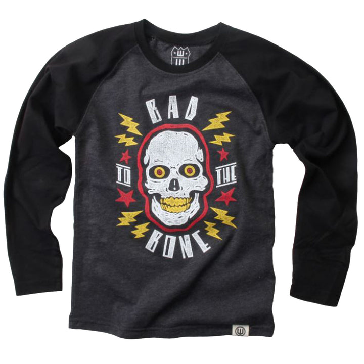 Bad To The Bone Long Sleeve Raglan