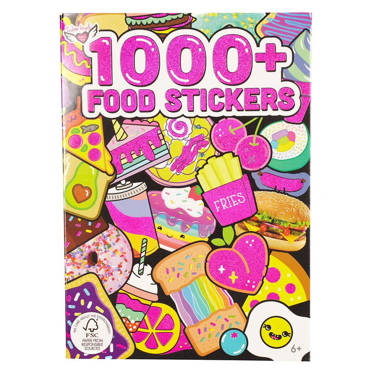 1000 Plus Food Stickers