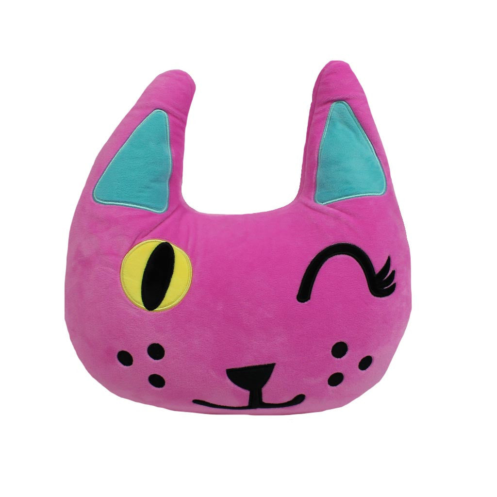 Winking Cat Micro Bead Pillow