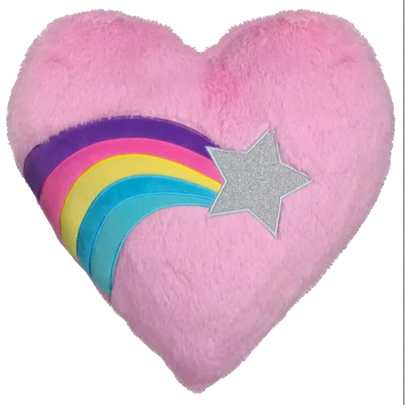 Heart with Shooting Star Pillow