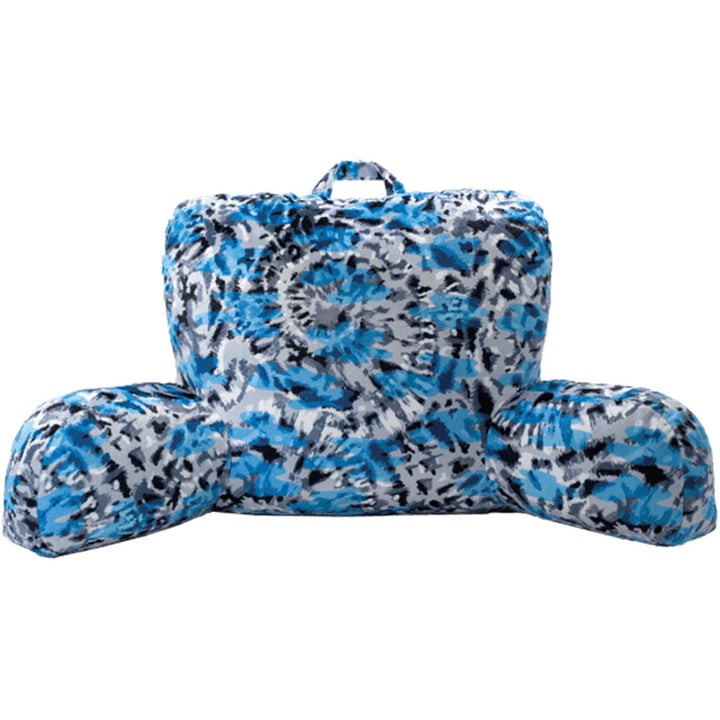 Blue Tie Dye Lounge Pillow