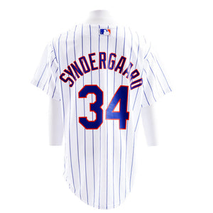 Mets Syndergaar Cool Base Home Replica Jersey