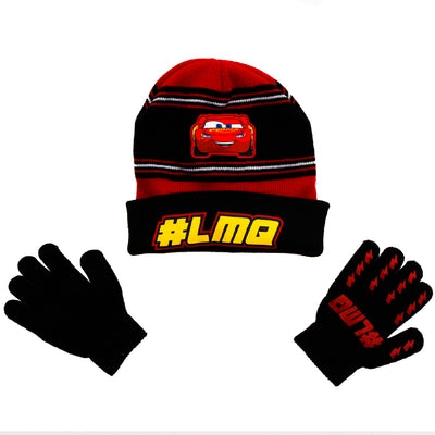 4/7 Cars Hat and Glove Set