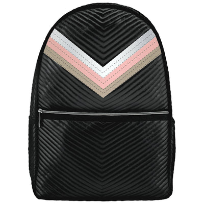 Chevron w Backpack Taping Tri Color Metallic