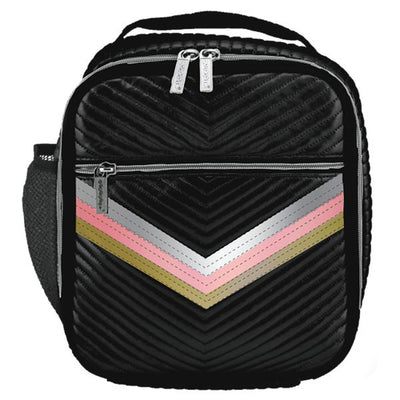 Chevron with Trio Taping Lunch Tote