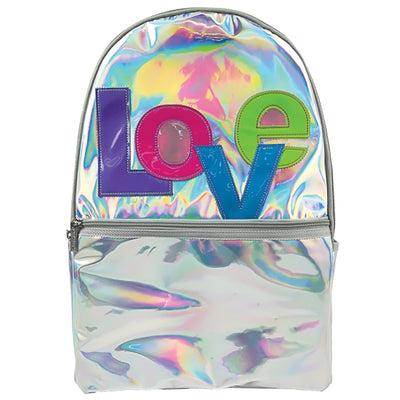 Love Patch Hologtaphic Backpack