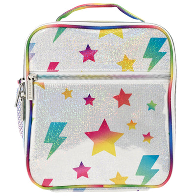 Stars and Lightning Lunch Tote