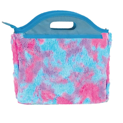 Sherbert Tie Dye Furry Lunch Tote