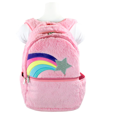 Shooting Star Furry Backpack