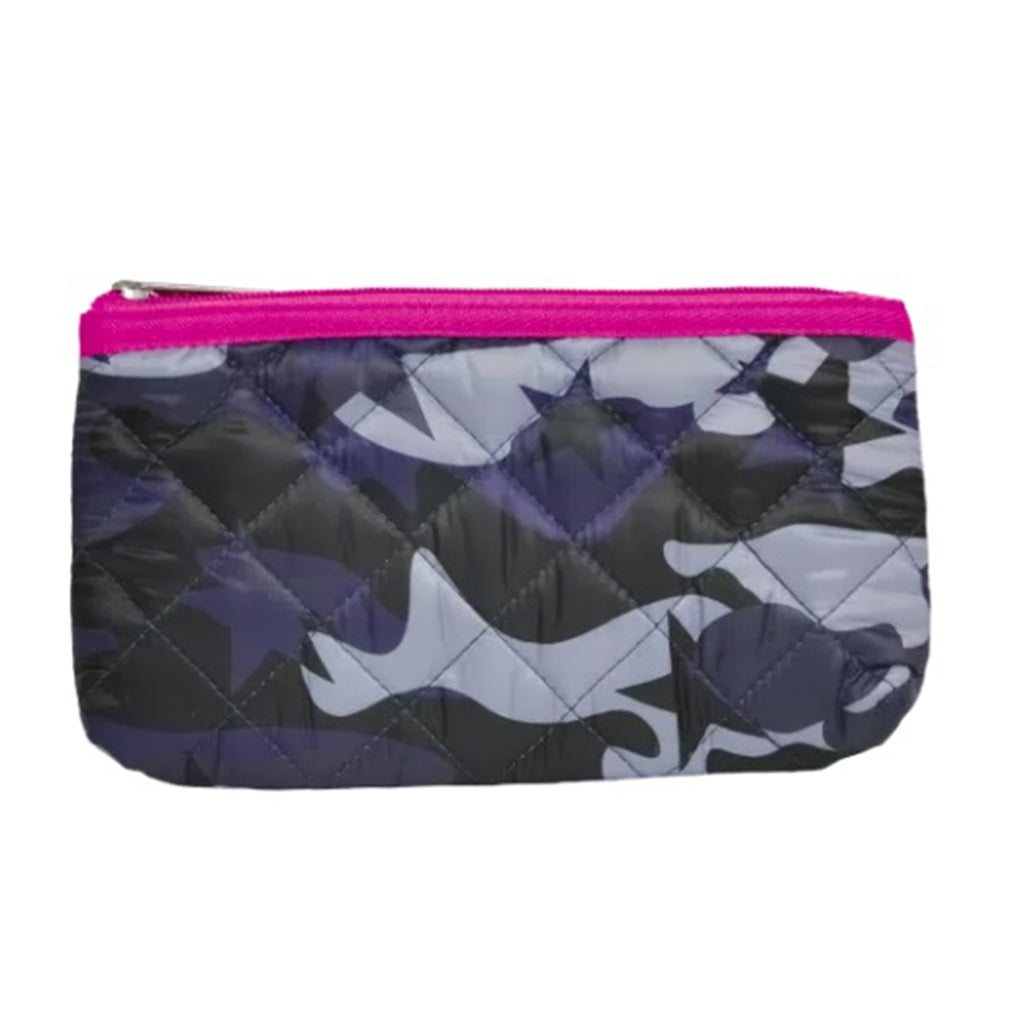 Blue Camo Pencil Case