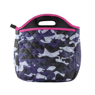 Blue Camo Lunch Tote