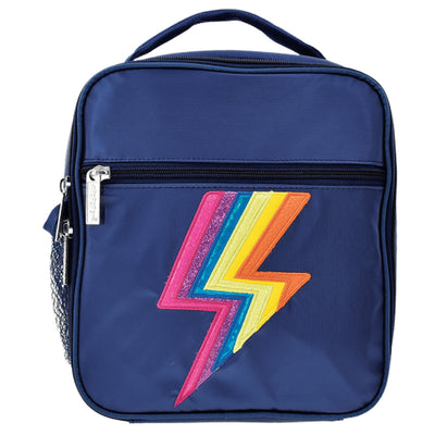 Metallic Lightning Lunch Tote