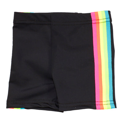 Bike Short with Neon Stripe Sides