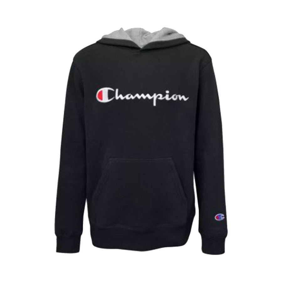 Embroidered Signature Fleece Hoodie