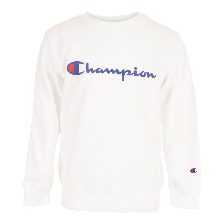 Champion Script Fleece Crew