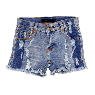 Short With Denim Stripe