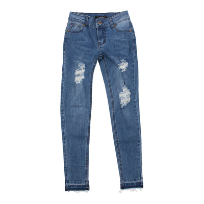 Denim Jean with Destruction